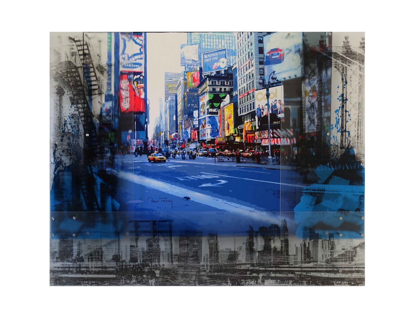 Paul Thierry - New York - Times Square