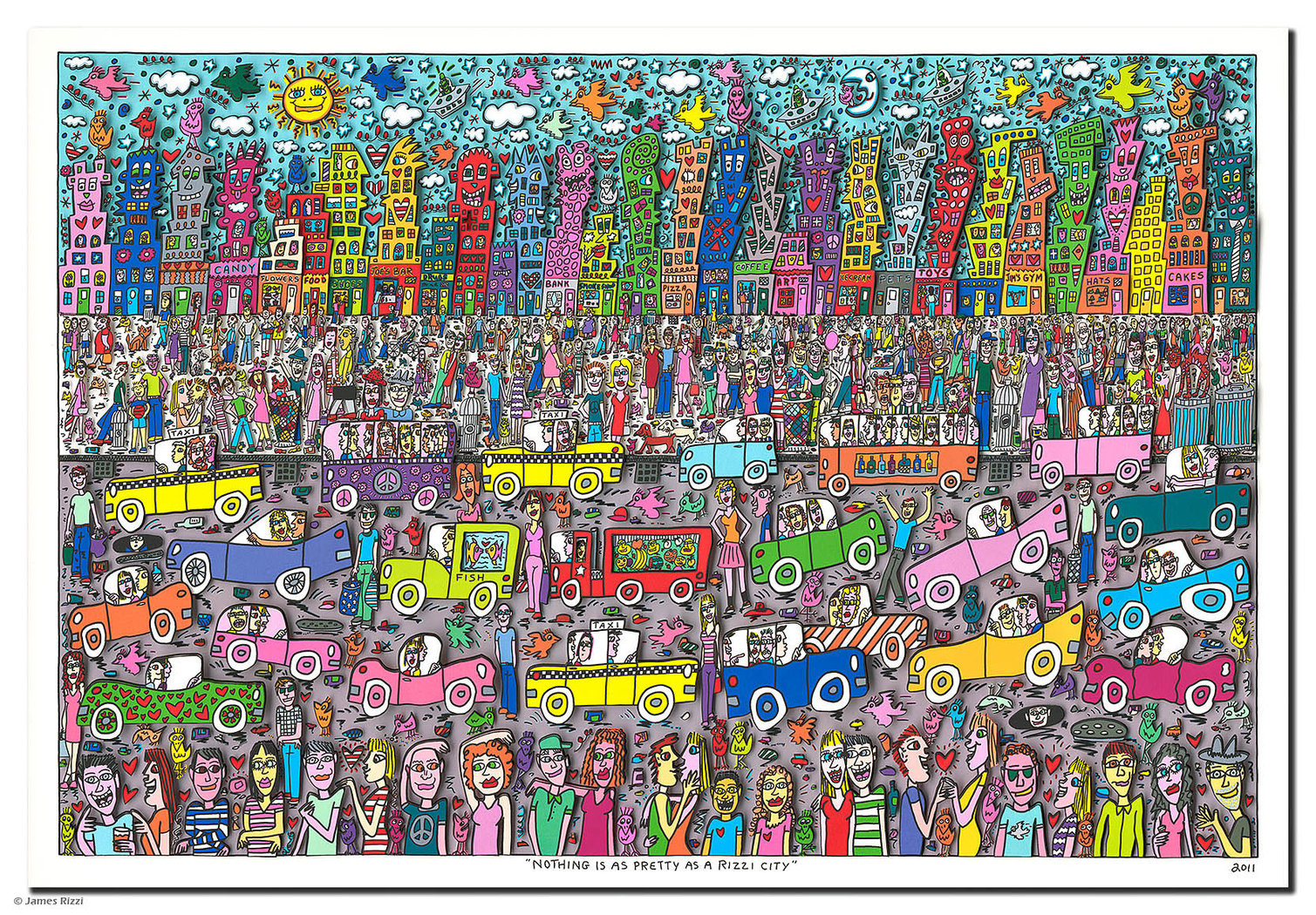 James Rizzi - NOTHING IS AS PRETTY AS A RIZZI CITY