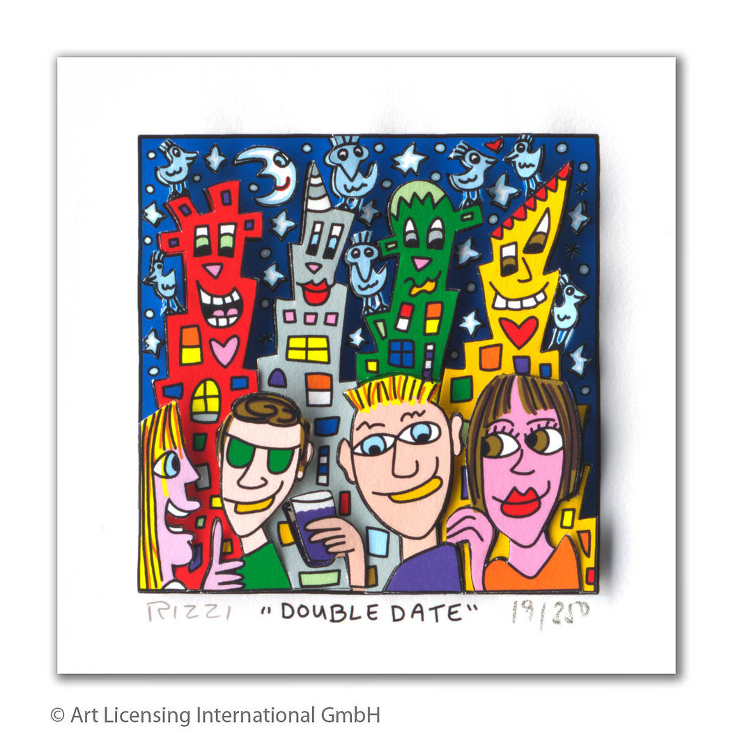 James Rizzi - DOUBLE DATE