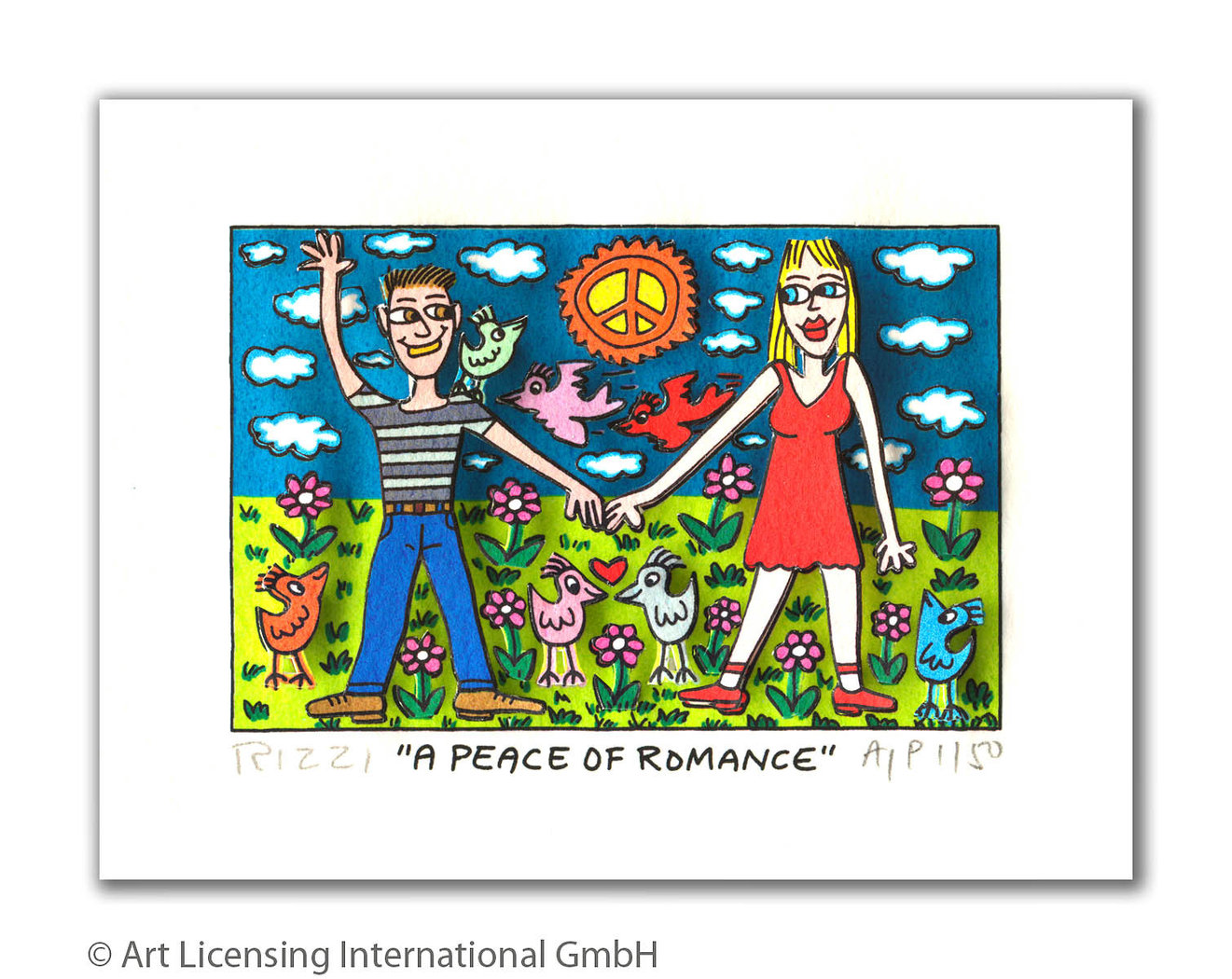 James Rizzi - A PEACE OF ROMANCE