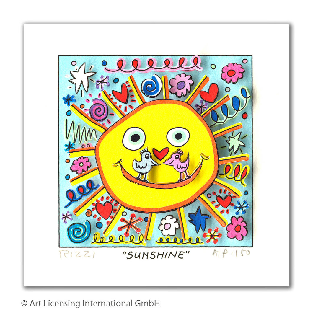 James Rizzi - SUNSHINE