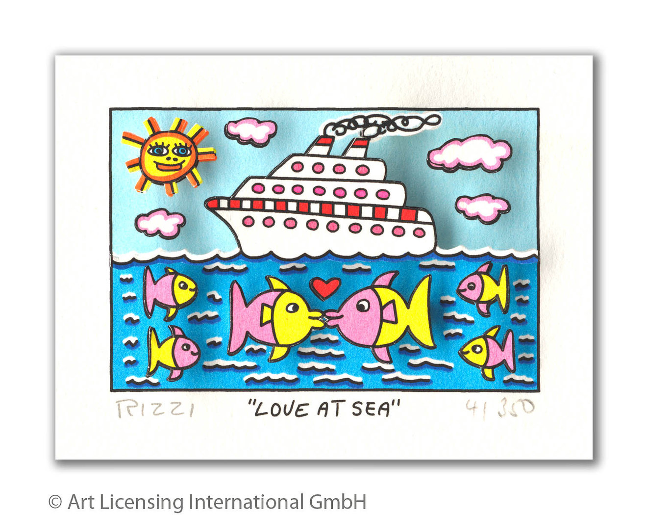 James Rizzi - LOVE AT SEA